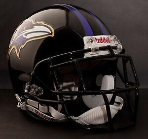 STEVE SMITH Edition BALTIMORE RAVENS Riddell AUTHENTIC Football Helmet NFL