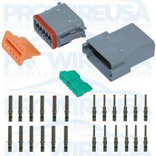 Deutsch DT 12 Pin Connector Kit 14-16 GA Nickel Contact