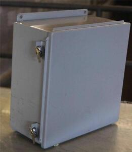 Hubbell Wiegmann Control Panel Box  ETU-3MN  O4UP  02105655  B121206CHWW  #80