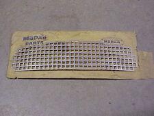 1956 Plymouth NOS MoPar GRILLE BAR MESH INSERT Plaza Savoy Belvedere