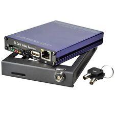 H.264 4 Ch Channel Car DVR & Vehicel Real-time Video Recorder DVR Camera