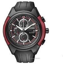 Citizen Eco Drive orologio uomo ca0287-05e SPORT orologi gomma orologio uomo UVP 249 €