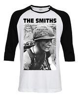 The Smiths Meat is Murder Rock Music Baseball Tee T-Shirt # LS133