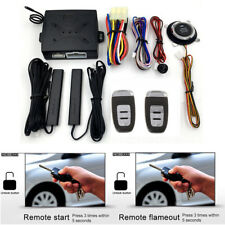 Intelligent Car Security System With PKE Keyless Entry Remote Induction Alarm