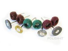 UK made-Style Dremel pre-polishing kit 47 pour tous les métaux fini mat parfait