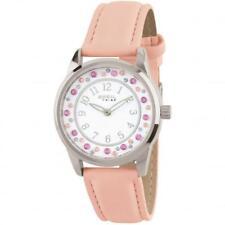 Reloj Mujer BREIL Tribe MOON RIVER EW0310 Cuero Rosa Swarovski Coloreado