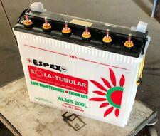 Batería Solar EXIDE PLACA TUBULAR 12v  200Ah C10 Fotovoltaica