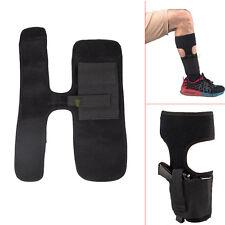 Concealed Ankle Leg Pistol Carry Gun Holster Elastic Wrap Fit Glock 26/27/30 esp