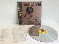 Judas Priest - Live! | Japan Laserdisc + Obi & Insert, N TSC | Near Mint