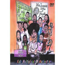 NEW DVD Kids Multiplication Motivation~,
