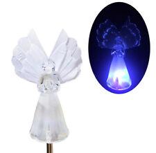 Angel Fiber Optic Wing Solar Power LED Light Color Changing Garden Stake, 2 PACK