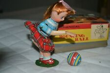 Tin toy Suzy Bouncing Ball TPS Japan anni 50