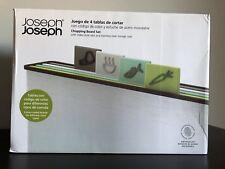 Joseph Joseph Chopping Board Set Index Style Tabs Stainless Steel Storage Case