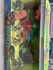 Nickelodeon TMNT Halfshell Heroes Battle Pack Party Wagon Complete Set NIB