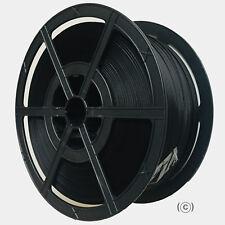 More details for 12mm x 2000m hand pallet strapping banding coil 135kg polypropylene black