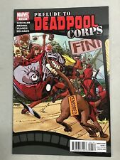 PRELUDE TO DEADPOOL CORPS #4 MARVEL COMICS FIRST PRINT (2010) DOGPOOL