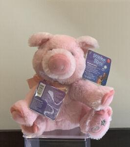 So Cute!! BRAND NEW WITH TAGS Russ Shining Stars Plush Pink Pig Stuffed Animal