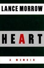 Heart: A Memoir Morrow, Lance Hardcover Used - Good