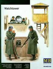 MASTERBOX WWII GERMAN WATCH TOWER WITH CREW Scala 1:35 cod.3546