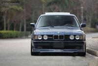 Sport lip for BMW E34 Front Bumper lower spoiler chin skirt valance Extension