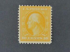 Nystamps US Stamp # 364 Mint OG $1600 Bluish Paper y2yw