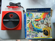 Vintage Panasonic TNT 8-Track Tape Player Red Color RQ-830S