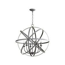 Quorum Celeste 6 Light Sphere, Zinc - 6009-6-17