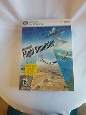 Microsoft Flight Simulator X (PC, 2006)  With CD Key, Slip cover, and manual