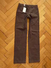 NEW Custom more by 120% Chino Pants Trousers Pants Cuban Brown Brown Size 46 (S)