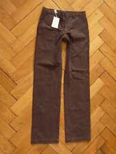 Nouveau Custom more by 120% Chino pantalon trousers pants Cuban Brown Marron taille 46 (s)
