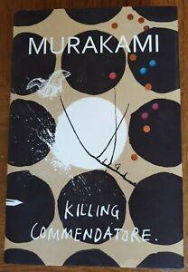 HARUKI MURAKAMI KILLING COMMENDATORE 1ST/1ST EDITION UNREAD HARDBACK