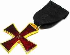 Masonic Knights Templar Order of the Red Cross Jewel