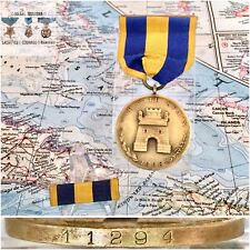 11294 US ARMY SPANISH CAMPAIGN MEDAL WRAP BROOCH 1937 NORTHERN STAMPING NUMBERED
