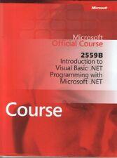 2559B: Introduction to Visual Basic .Net Programmi