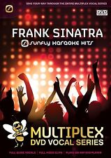 FRANK SINATRA - SUNFLY MULTIPLEX KARAOKE DVD - 12 HIT SONGS