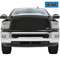 EAG Fit for 13-18 Dodge Ram 2500 Replacement Grille Black Stainless Steel Mesh
