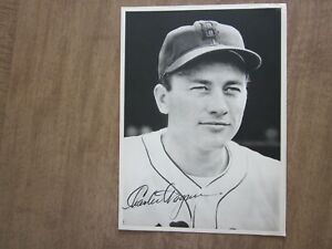 1941 Boston Red Sox Charlie Wagner Team Issued Picture Pack Photo
