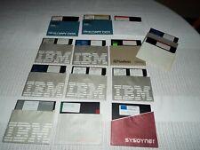 Lot Of 14 Vintage Used Floppy Disk Read! Look!