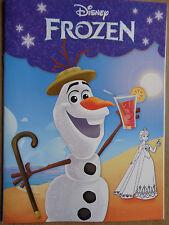 Disney Frozen * Malbuch *Olaf* 17 Motive * DIN A4 *Mit farbigen Seiten * Neu