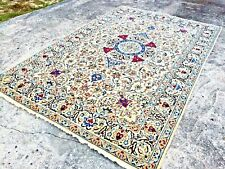 6x10 Oriental Wool Rug Hand Knotted