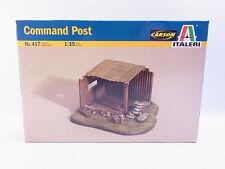 Interhobby 38911 Italeri 417 Command Post puesto de mando 1:35 kit nuevo en OVP