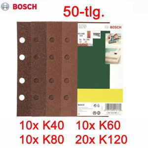 Schleifpapier Set Schleifblätter für Schwingschleifer MAKITA BO 3711 J und 9036