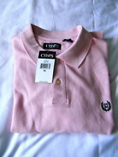 GENUINE RALPH LAUREN CHAPS POLO SHIRT - XL - BRAND NEW WITH TAGS - LIGHT PINK