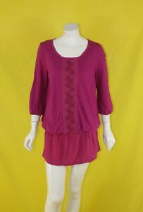 BNWT TOM TAYLOR EMBROIDERED LONG TOP