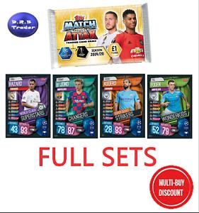 Match Attax 19/20 2019/20 Full set of MEGA TIN EXCLUSIVE cards