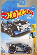 2018 Hot Wheels #166 Checkmate-Pawn 6/9 FAST 4WD Black w/Black OH5 sp 50th Anniv