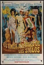 OLDEST PROFESSION Argentinean movie poster WELCH MOREAU MERCIER KARINA GODARD