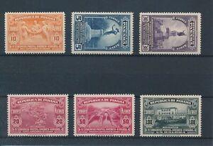 [35798] Panama 1936 Good airmail set Very Fine MNH stamps