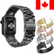 STAINLESS STEEL METAL REPLACEMENT BAND FOR APPLE WATCH SERIES 1 / 2 / 3 / 4 / 5