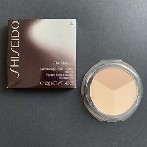 Shiseido The Makeup Luminizing Color Powder L3 Golden Beige Bronzer Contour NIB